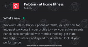 Peloton Android App Users Get an Update